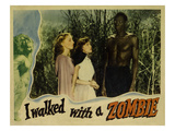I Walked With A Zombie, From Left, Christine Gordon, Frances Dee, Darby Jones, 1943 Photo