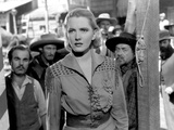 The Plainsman, Jean Arthur, 1936 Print