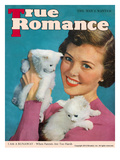 True Love Stories Vintage Magazine- March 1950 - Ektachrome Giclee Print by Irving C. Christenson