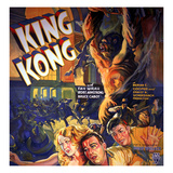 King Kong, Fay Wray, Robert Armstrong, Bruce Cabot, 1933 Prints