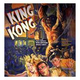King Kong, Fay Wray, Robert Armstrong, Bruce Cabot, 1933 Prints