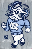 University of North Carolina Tarheels NCAA Poster Prints