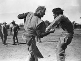 Red River, John Wayne, Montgomery Clift, 1948 Print