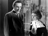 The Black Cat, Bela Lugosi, Jacqueline Wells, 1934 Photo