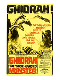 Ghidrah, the Three-Headed Monster, 1964 Poster
