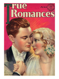 True Romances Vintage Magazine - June 1931 - Painted By Jules Cannert Prints by Jules Cannert