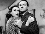 The Cat and the Canary, Paulette Goddard, Bob Hope, 1939 Print
