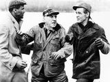 Odds Against Tomorrow, Robert Ryan, Ed Begley, Harry Belafonte, 1959 Photo