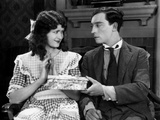 Sherlock Jr., Kathryn McGuire, Buster Keaton, 1924 Photo