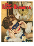 True Love Romance Vintage Magazine - January 1948 - Harlequin Giclee Print