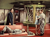 Forbidden Planet, Walter Pidgeon, Warren Stevens, Anne Francis, Leslie Nielsen, 1956 Photo