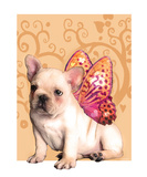 Sweetie Frenchie Premium Giclee Print by Natasha Wescoat