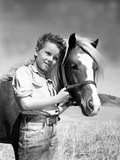 The Red Pony, Peter Miles, 1949 Photographie