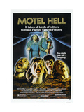 Motel Hell, Top Left to Right: Nancy Parsons, Rory Calhoun, 1980 Print