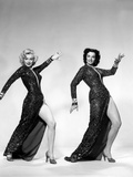 Gentlemen Prefer Blondes, Marilyn Monroe, Jane Russell, 1953 Poster