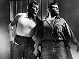 Riot In Cell Block 11, Leo Gordon, Neville Brand, 1954 Print