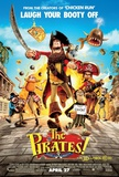 Pirates Band of Misfits Movie Poster Affiches