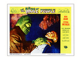 The Mole People, On Right: Nestor Paiva; Lobby 'Scene' Card, 1956 Photo