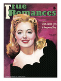 True Romances Vintage Magazine - October 1941 - Mary Beth Hughes 20th Century Fox Posters by Morr Kusnet