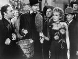 Destry Rides Again, Brian Donlevy, James Stewart, Marlene Dietrich, 1939 Photo