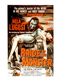 Bride of the Monster, Bela Lugosi, 1955 Poster