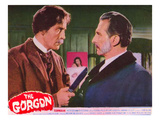 The Gorgon, From Left: Christopher Lee, Peter Cushing, 1964 Photo