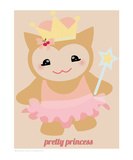 Pretty Princess Premium Giclee Print by Natasha Wescoat