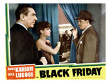 Black Friday, Bela Lugosi, Anne Nagel, Edmund MacDonald, 1940 Photo