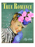 True Love and Romance Vintage Magazine- May 1947 - Cover Giclee Print by Charles Kellaway