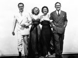 Libeled Lady, William Powell, Jean Harlow, Myrna Loy, Spencer Tracy, 1936 Print