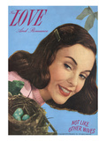 True Love & Romance Vintage Magazine - May 1948 - Kodachrome Giclee Print by Charles Kellaway