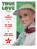 True Love Stories Vintage Magazine - April 1953 - Ektachrome Posters by R. Davidson