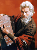 The Ten Commandments, Charlton Heston, 1956 Prints