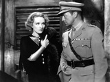 Shanghai Express, Marlene Dietrich, Clive Brook, 1932 Photo