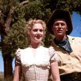 Oklahoma!, Shirley Jones, Gordon MacRae, 1955 Poster