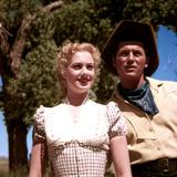 Oklahoma!, Shirley Jones, Gordon MacRae, 1955 Poster