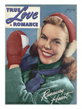 True Love & Romance Vintage Magazine - January 1947 Prints by  Macfadden Studios