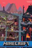 Minecraft - Sam Cube Premium Poster Prints