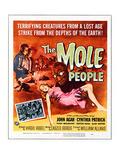 The Mole People, Hugh Beaumont, Cynthia Patrick, 1956 Poster