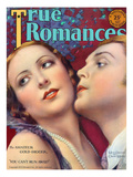 True Romances Vintage Magazine - May 1929 Mary Duncan Charles Morton William Fox Players Painted Prints by Leo Sielke Jr.