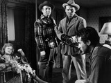 Border Incident, Lynn Whitney, Howard Da Silva, Charles McGraw, Ricardo Montalban, 1949 Print