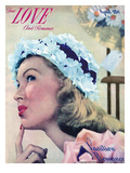 True Romance Vintage Magazine - April 1948 - Cover - Marie McDonald MGM. Kodachrome Giclee Print by Hymie Fink