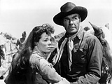 Comanche Station, Nancy Gates, Randolph Scott, 1960 Photo