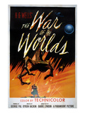 War Of The Worlds, Ann Robinson, Gene Barry, 1953 Posters