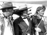 The Alamo, Richard Widmark, Laurence Harvey, John Wayne, 1960 Print