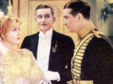 The Merry Widow, Jeanette MacDonald, Edward Everett Horton, Maurice Chevalier, 1934 Photo