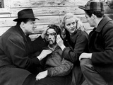 On The Waterfront, Karl Malden, Marlon Brando, Eva Marie Saint, 1954 Photo
