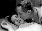 One Way Passage, Kay Francis, William Powell, 1932, Kissing Photo