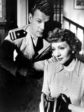 Since You Went Away, Joseph Cotten, Claudette Colbert, 1944 Photo