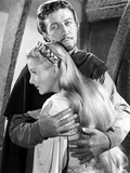 Ivanhoe, Robert Taylor, Joan Fontaine, 1952 Photo